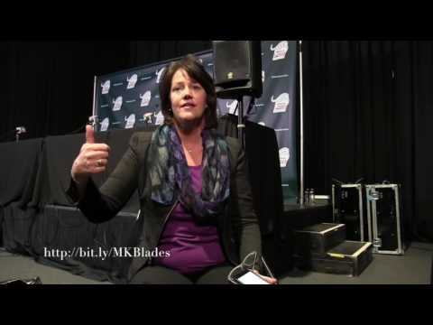 Catching Up With Christine Brennan: 2016 Skate America