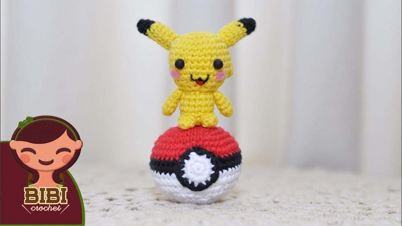 Amigurumi | Como hacer a pikachu en crochet | Bibi Crochet - YouTube
