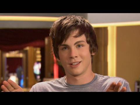 Percy Jackson - Logan Lerman Interview