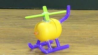 как сделать мини вертолёт своими руками из киндер сюрприза