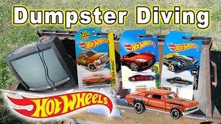 Dumpster Diving #72 Hot Wheels