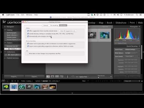 Adobe Lightroom 5 Tutorial | Converting Images Into The DNG Format