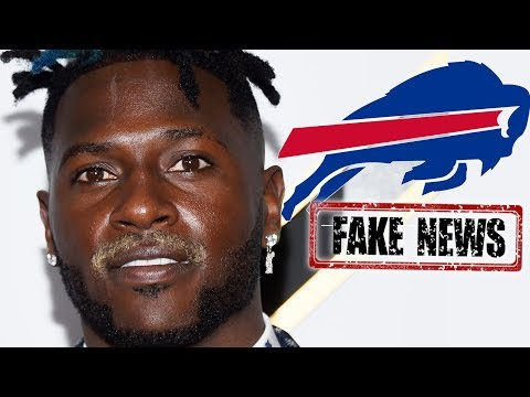 Antonio Brown KILLS Buffalo Bills Trade By Calling it FAKE NEWS!