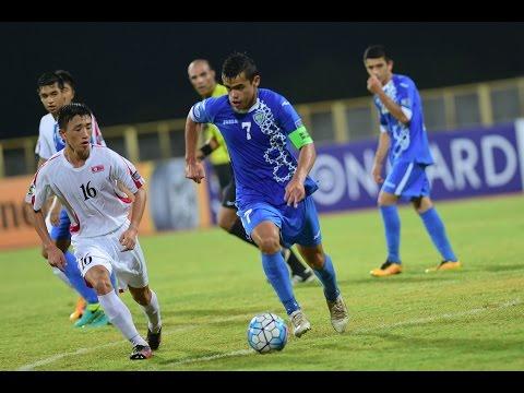 Video: U16 Triều Tiên vs U16 Uzbekistan