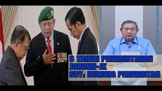 3 TAHUN JOKOWI-JK, SBY: DUKUNG PEMERINTAHAN JOKOWI RAMPUNGKAN TUGAS!