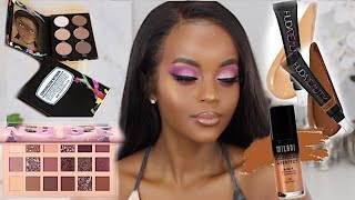 SOFT GLAM MAKEUP TUTORIAL BROWN/DARK SKIN MAKEUP