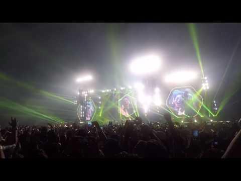 Yellow   Coldplay Live in Bangkok 2017