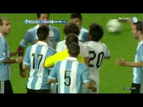 Resumen de Argentina 3 - Uruguay 0 (FULL HD)