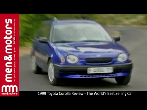 1999 Toyota Corolla Review - The Worlds Best Selling Car