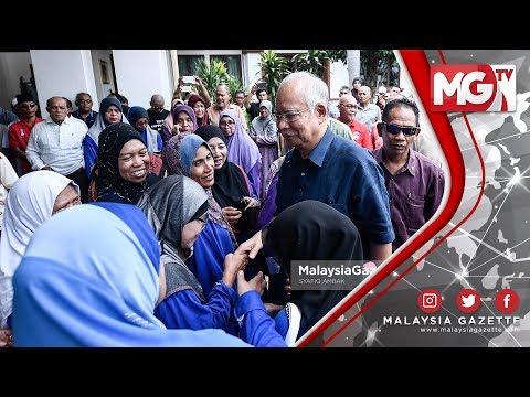 TERKINI : Selepas 10 hari BN tewas Najib kembali ke Pekan
