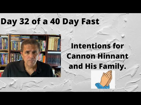 Day 32 of a 40 Day Fast, Intentions, 2 Corinthians 5:15