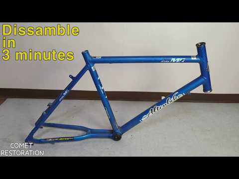 Bicycle disassembly in 3 minutes!!