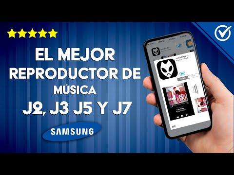 ¿Cuál es el Mejor Reproductor de Música para el Samsung J2, J2 Prime, J3, J5 y J7?