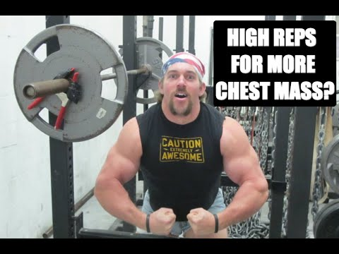 High Rep Chest Routine For Fast Muscle Growth
