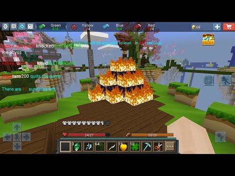 Legendary Burning Bed Defence In Bed Wars😍😏 - BlockmanGo