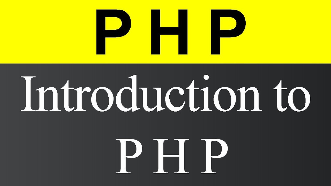 Introduction to PHP (Hindi)