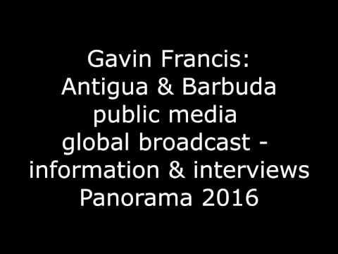 2016 Gavin Francis information & interviews - Antigua & Barbuda