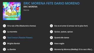 Eric Morena  fête Dario Moreno (Album Preview)