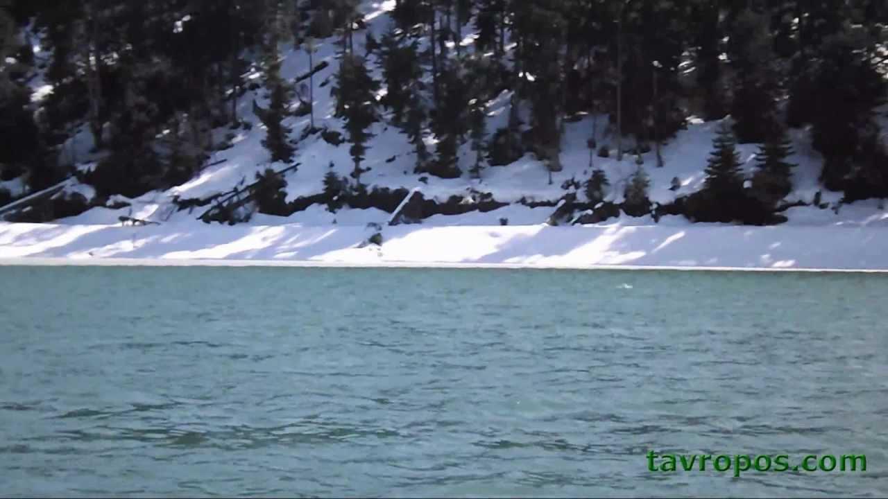 Λίμνη Πλαστήρα χειμωνιάτικη βόλτα tavropos.com