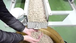 Гранулы из березового шпона(Переработка шпона-рванины в топливные гранулы (пеллеты). Физические параметры гранул полностью соответств..., 2016-03-02T13:23:48.000Z)
