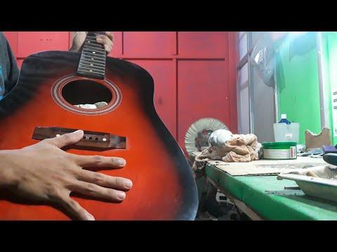 Cara Membuat Gitar Mengkilap Seperti Kaca