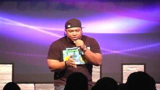 Tedashii at City Takers Event