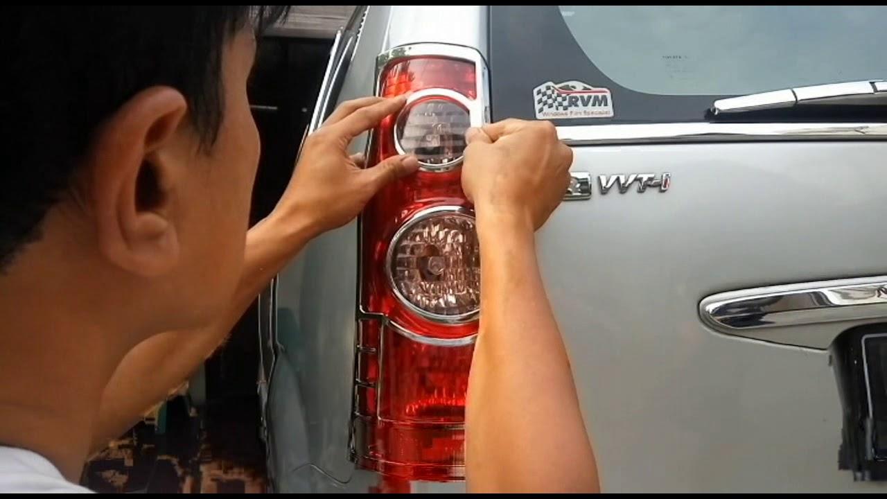 Cara Memasang Penutup Lampu Mobil