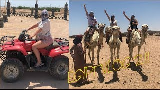 EGYPT VLOG PART TWO! DRUNKNESS/QUADBIKING!