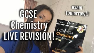 GCSE Chemistry Paper 1 revise with me!!