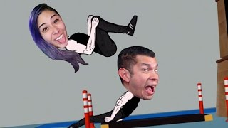 JUST TUCK & STICK! - Backflip Madness - Husband Vs Wife