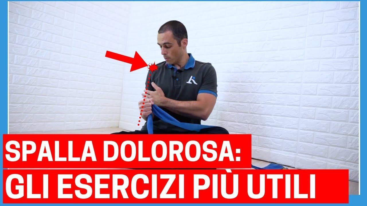 I migliori ESERCIZI per il DOLORE ALLA SPALLA (e come..