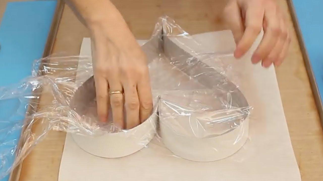 Cómo hacer un molde de corazón para bizcocho en San Valentin. Ideas fáciles DIY