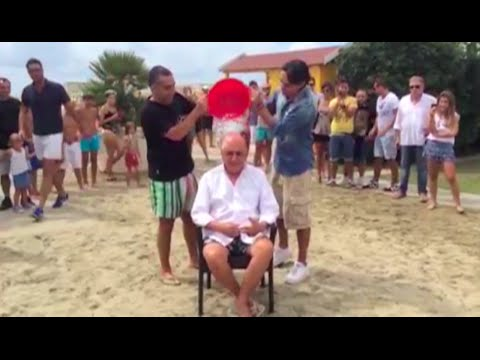 Ice Bucket Challenge: Adriano Galliani for Stefano Borgonovo Foundation | AC Milan Official