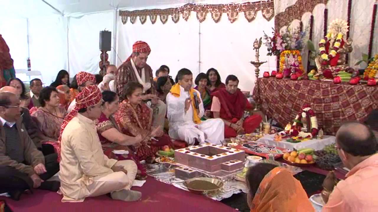 Hindu Temple Puja Part 1 - YouTube