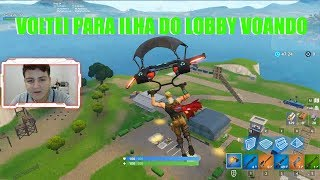 STEP BY STEP HOW TO GET BACK TO ISLAND FROM THE FLYING LOBBY! FORTNITE