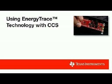 Using EnergyTrace Technology with the Code Composer Studio (CCS) Integrated Development Environment