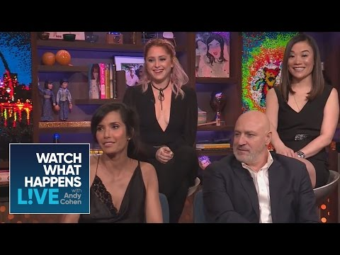 Padma Lakshmi And Tom Colicchio Dish On The 'Top Chef' Finale And   WWHL