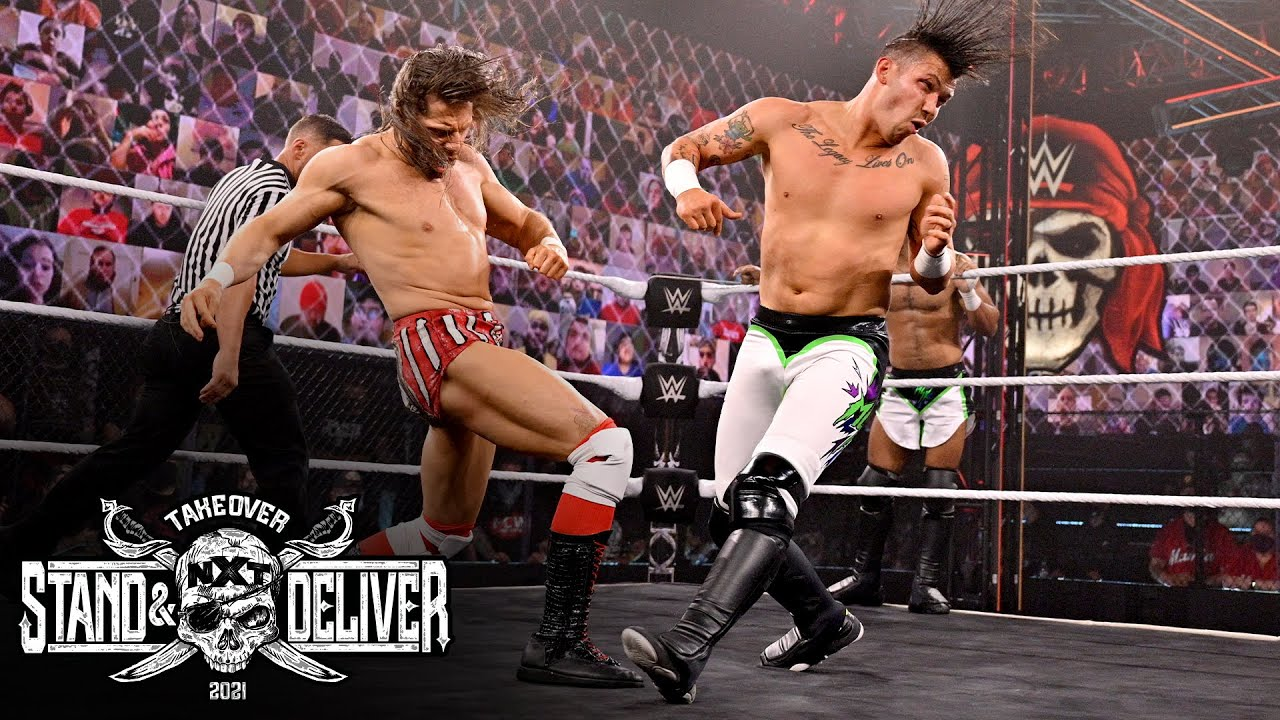 Download MSK vs. Grizzled Young Veterans vs. Legado del Fantasma- NXT TakeOver: Stand & Deliver April 7, 2021