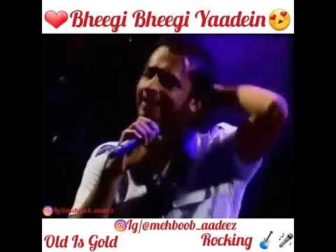 atif-aslam-old-video-but-old-is-gold- -@atifaslam-singing-bheegi-bheegi-yaadein- -sara-aadeez
