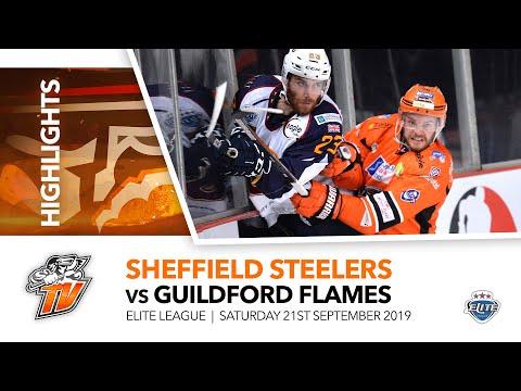Sheffield Steelers V Guildford Flames - EIHL - 21st September 2019