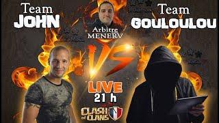 🔴 Team John VS Team Gouloulou + Tirage au sort Ultime Duel   Soirée épique