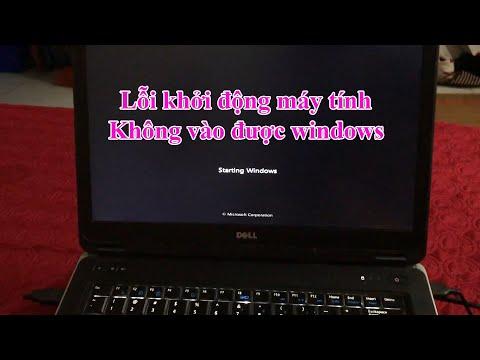 Hướng dẫn sửa lỗi khởi động lại windows máy tính liên tục không vào được win