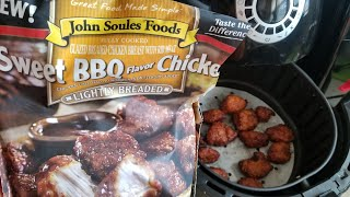 Air Fryer Sweet BBQ Chicken John Soules Foods Airfryer