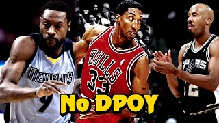 12 Greatest NBA Defenders Who NEVER Won Defensive Player of the Year