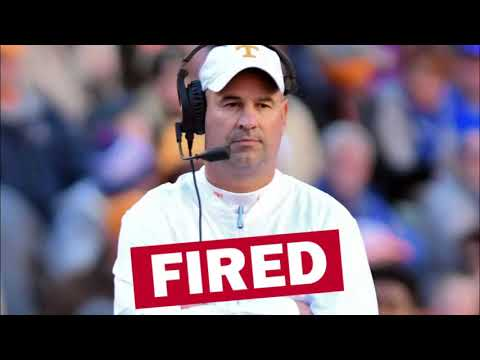 Tennessee-Fires-Jeremy-Pruitt-Reaction