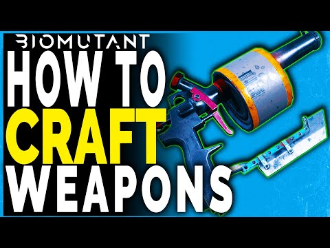 Biomutant WEAPON CRAFTING GUIDE – HOW TO CRAFT WEAPONS – Crafting Materials Needed