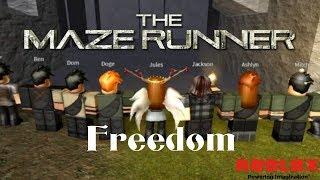 Freedom - Episode 5 | The Maze Runner RP Remake | Roblox
