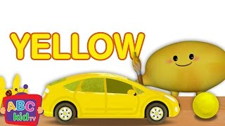 Color Song - Yellow   CoCoMelon Nursery Rhymes & Kids Songs