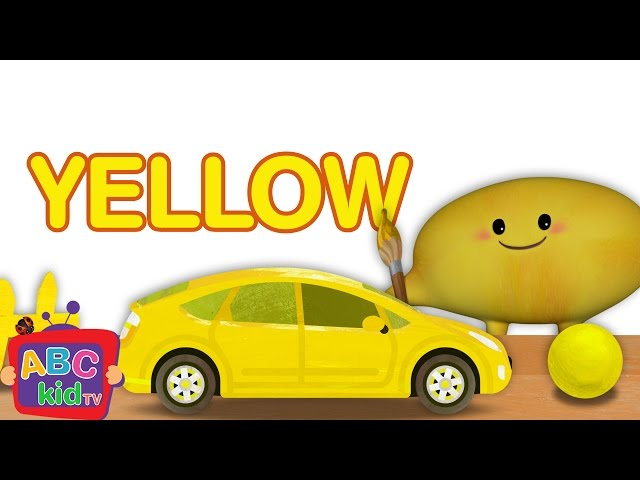 Color Song - Yellow | CoCoMelon Nursery Rhymes & Kids Songs
