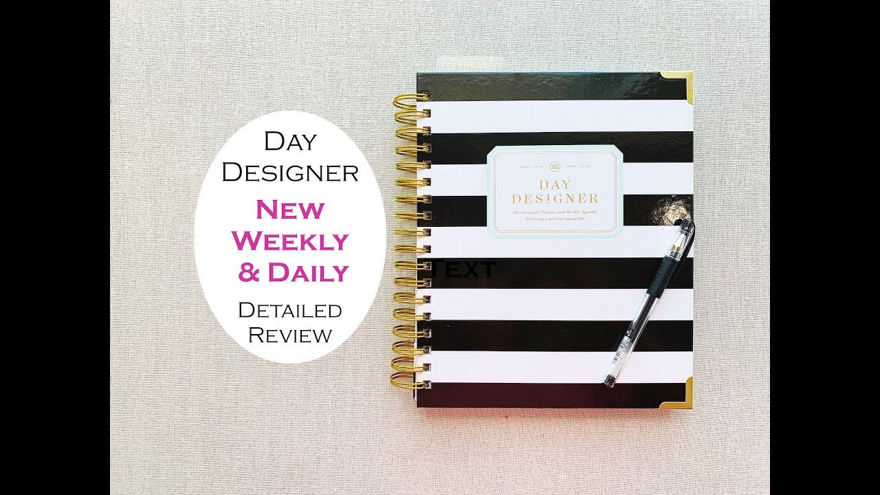 photograph relating to The Day Designer named Working day DESIGNER WEEKLY Each day PLANNER Analyze